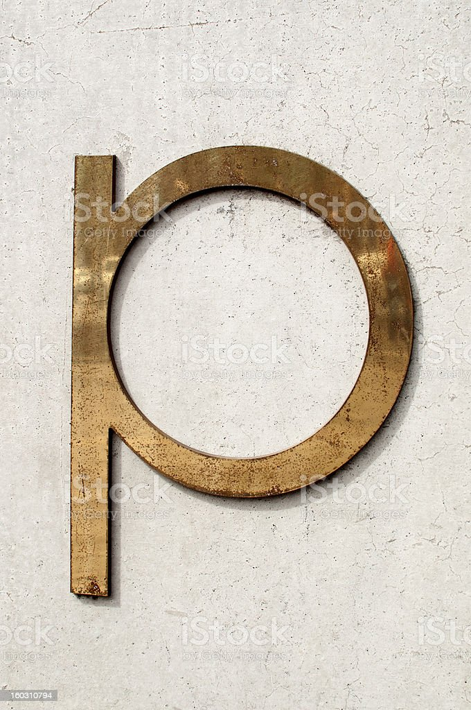Grunge lettering royalty-free stock photo