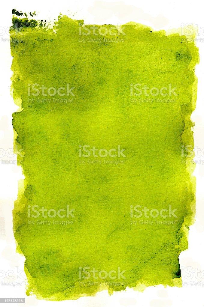 Grunge Lime Frame Vol I royalty-free stock photo