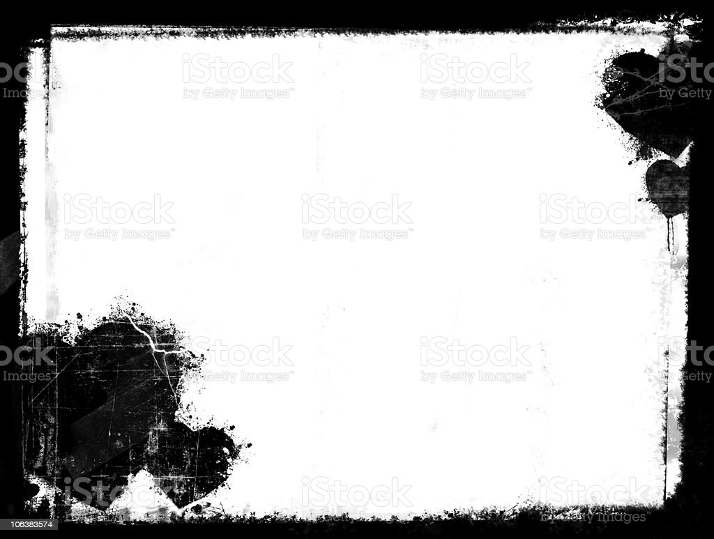 Grunge love- horizontal stock photo