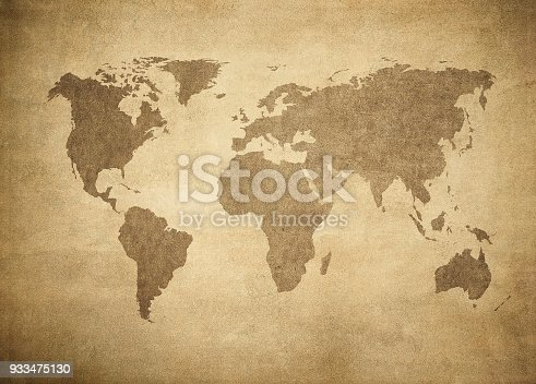istock grunge map of the world 933475130