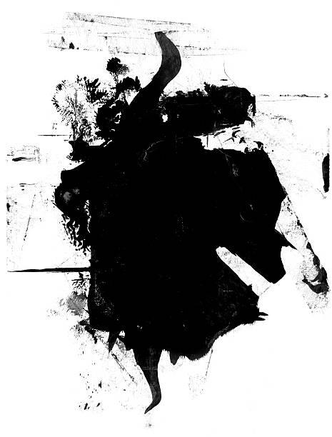 Grunge Mask Grunge mask. (Design Element) black border stock pictures, royalty-free photos & images