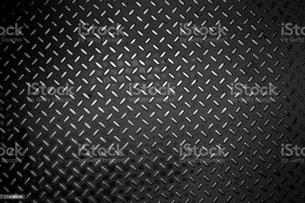 grunge metal plate royalty-free stock photo