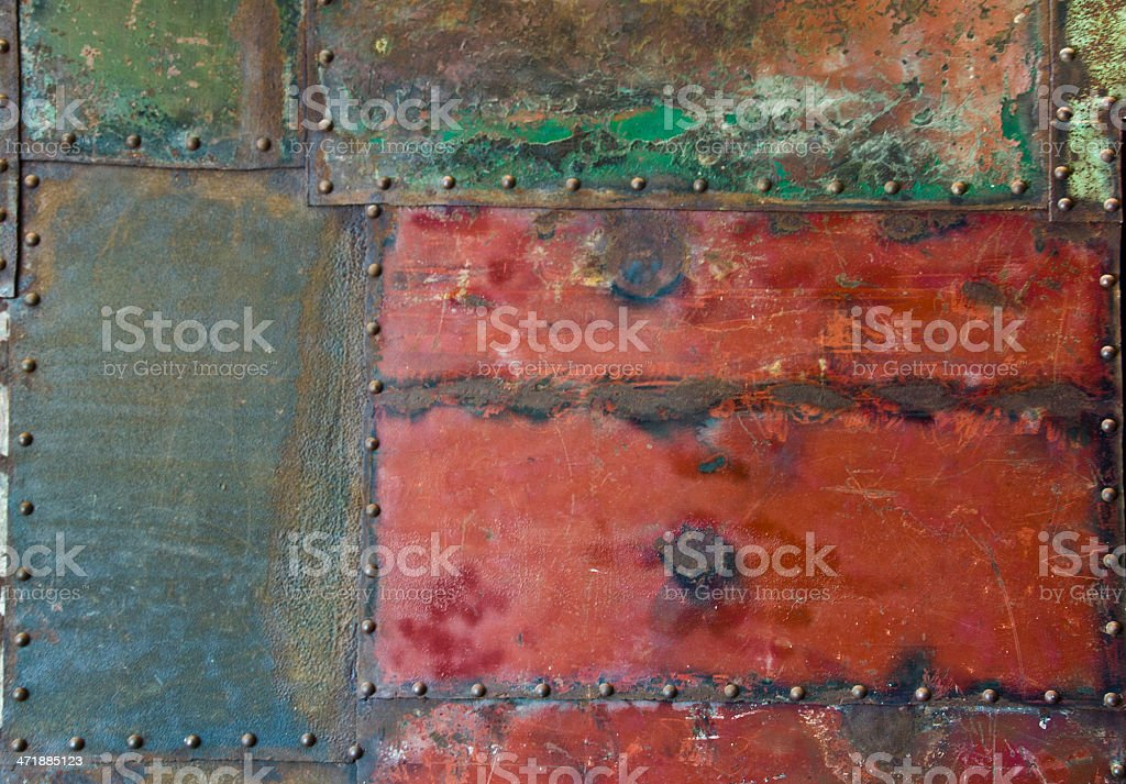 grunge metal rusty surface texture royalty-free stock photo