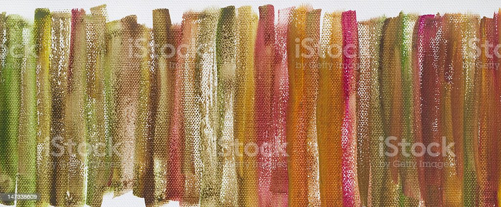 grunge multicolor painted canvas texture royalty-free stock photo