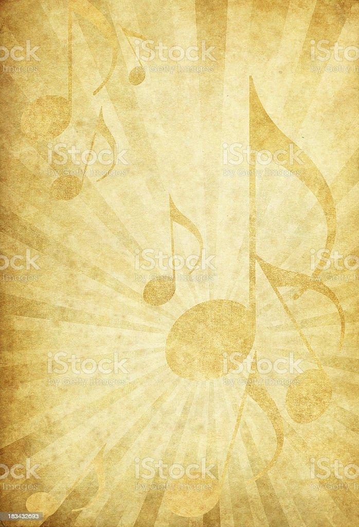 grunge music background royalty-free stock photo