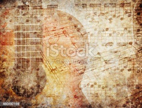 istock Grunge Music 460492159