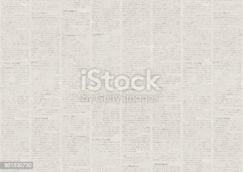 928623156 istock photo Grunge newspaper texture background 931530730