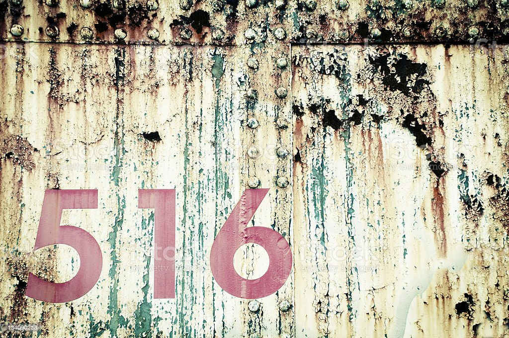 Grunge Numbers royalty-free stock photo