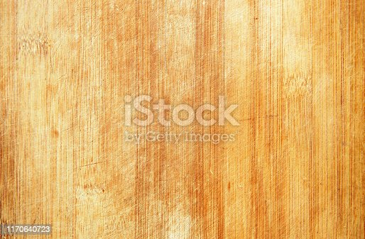 Grunge old bamboo cutting board textured background
