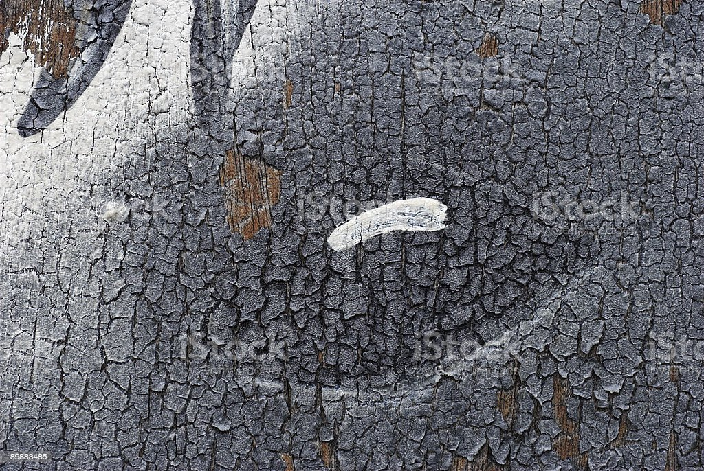 Grunge Old Paint royalty-free stock photo