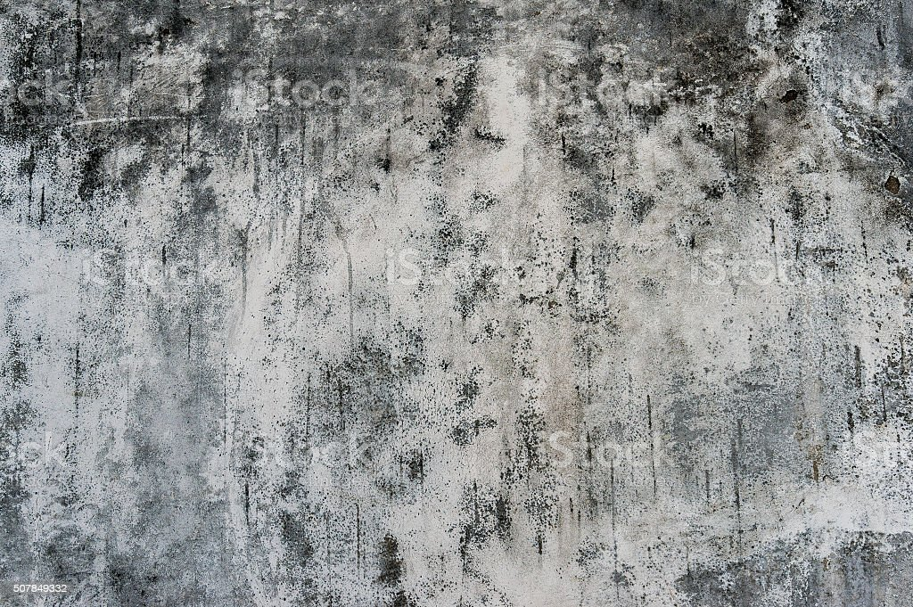 Grunge old wall black and white texture stock photo