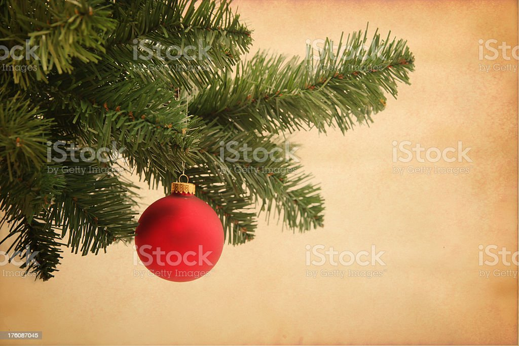 Grunge ornament xmas background royalty-free stock photo