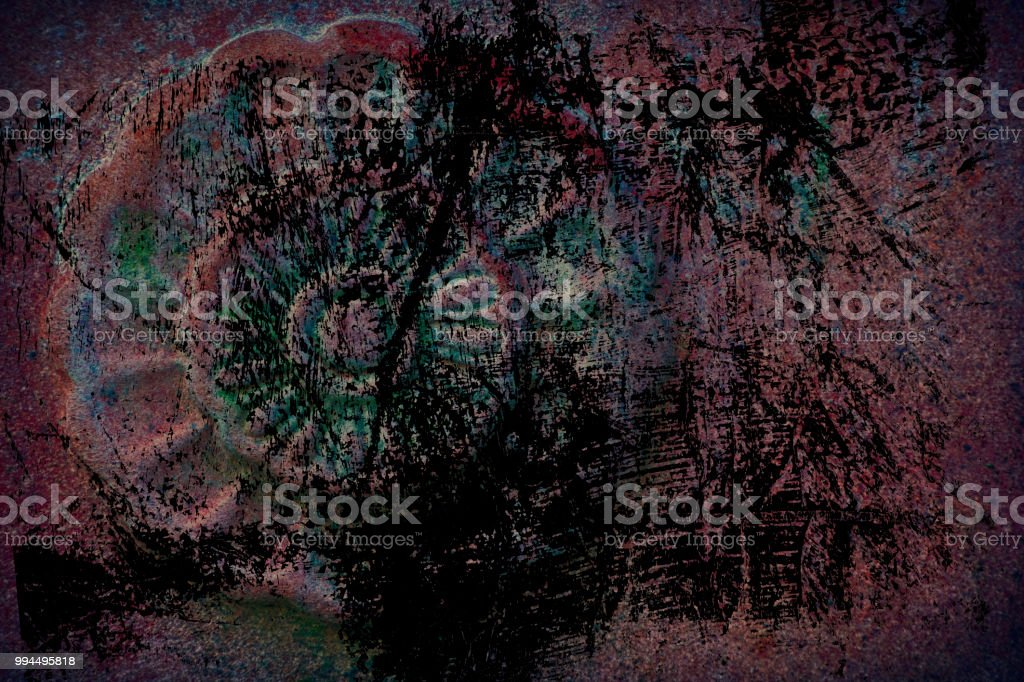 Grunge Ornate Stone Texture Circle Rock Shape Background For Web Site Or Mobile Devices Stock Photo Download Image Now Istock