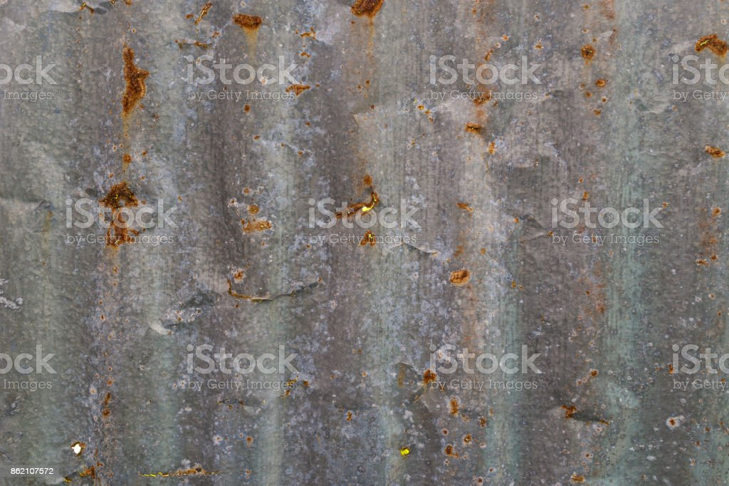 grunge oxide old metal steel wall as texture or background stock photo