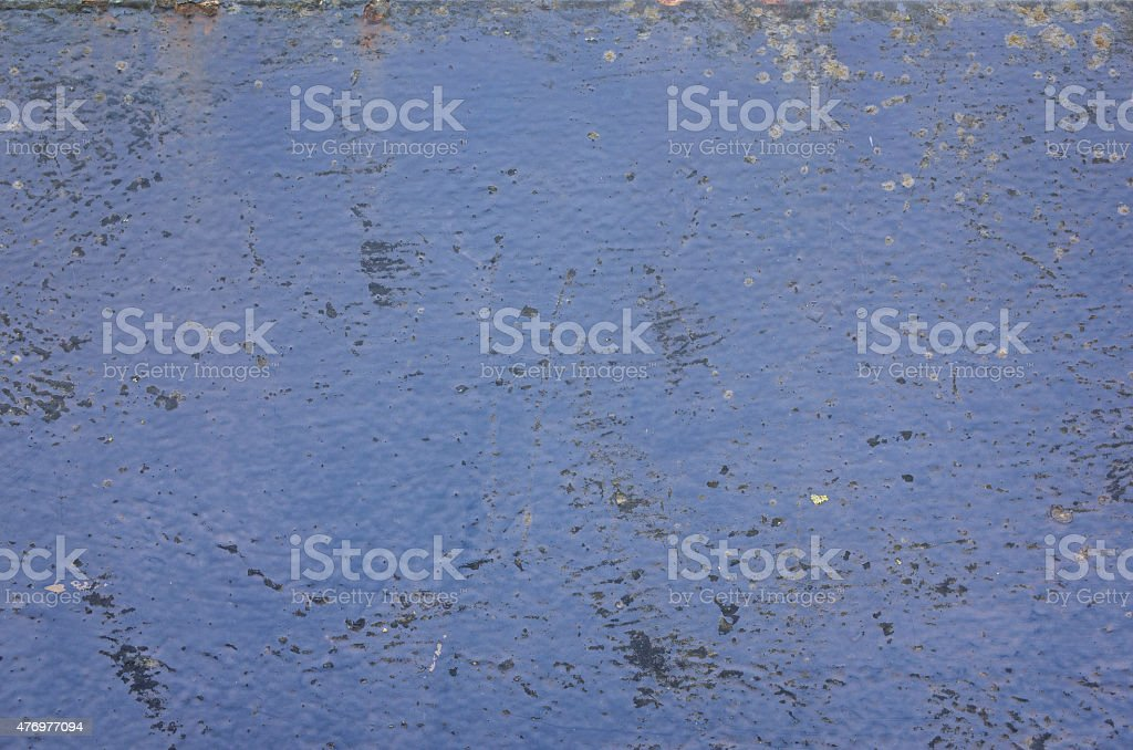 Grunge Painted Metal Surface stock photo