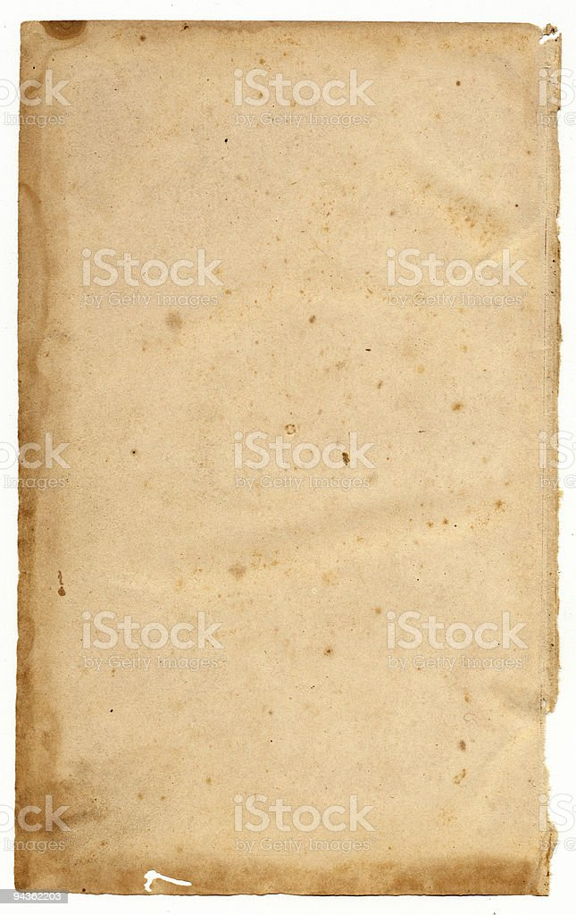 Grunge paper background stock photo