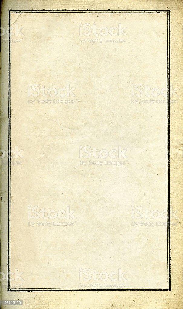 Grunge paper frame royalty-free stock photo