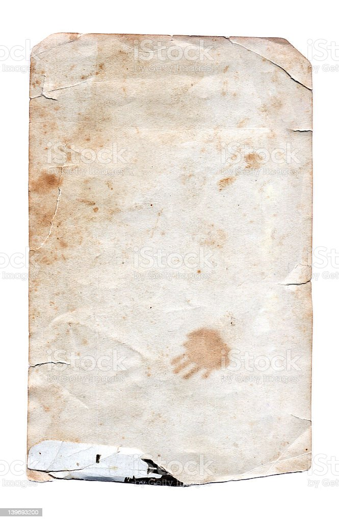 Grunge Paper - High resolution stock photo