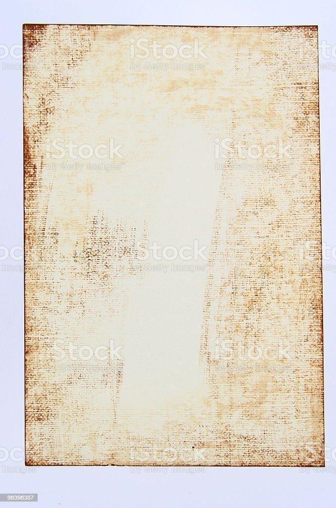Grunge Paper - Royalty-free Adhesive Tape Stock Photo