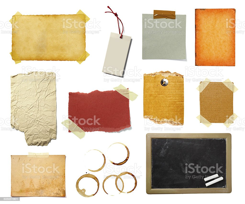 grunge paper piece note royalty-free stock photo