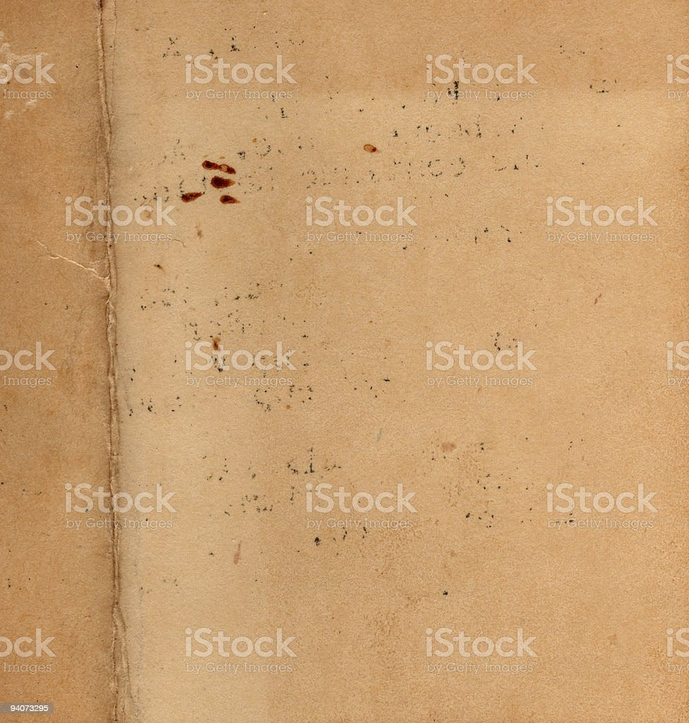 Grunge Paper Square stock photo
