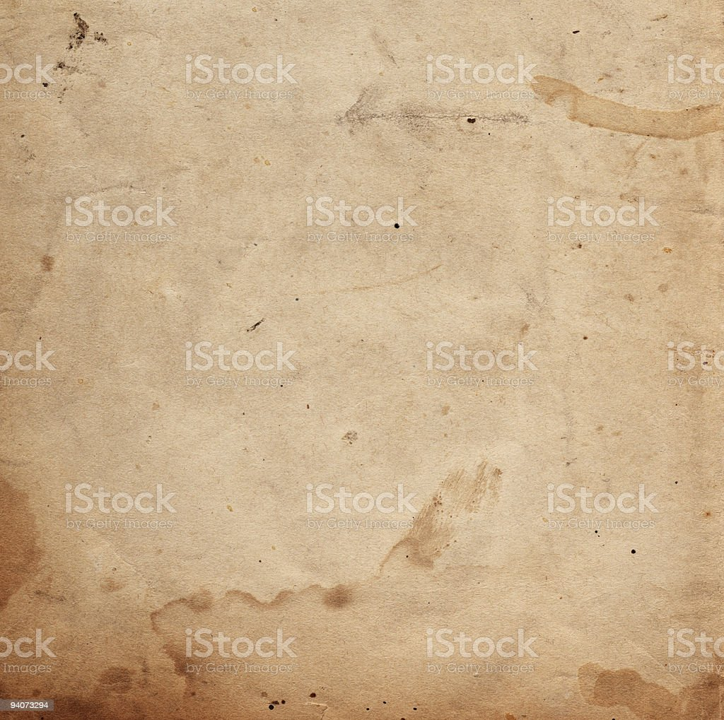 Grunge Paper Square XXL stock photo