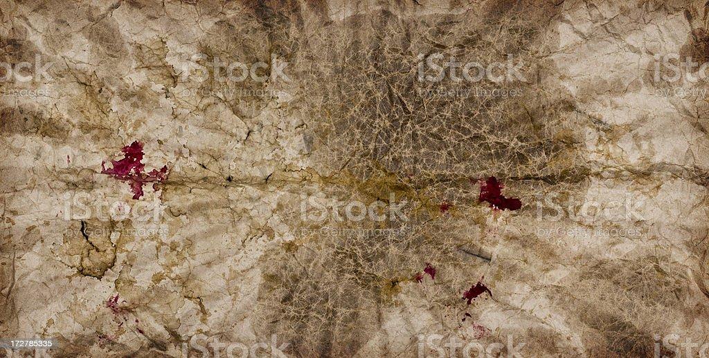 Grunge paper sunburst stock photo