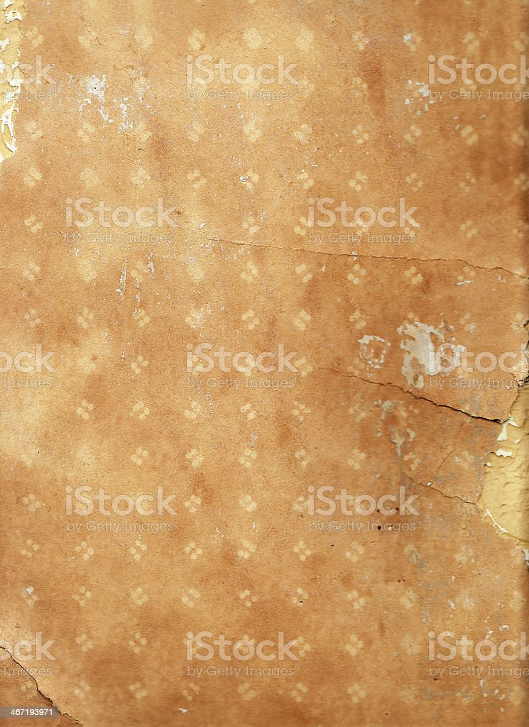 Grunge paper with pattern stock photo