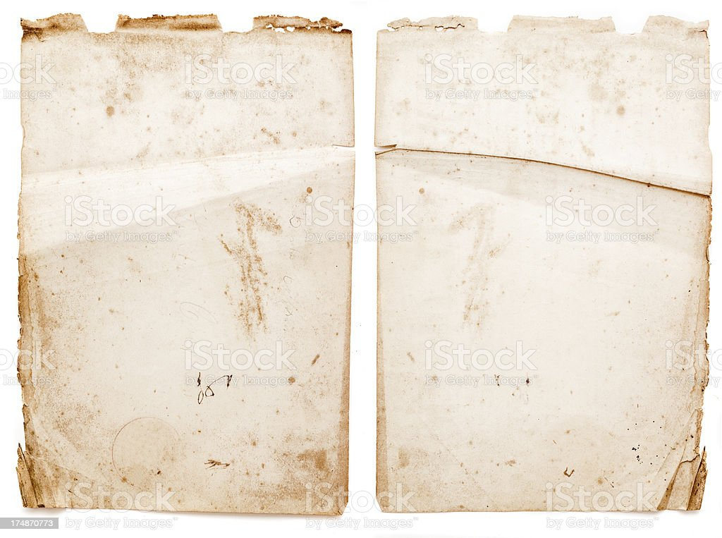 grunge piece of paper royalty-free stock photo