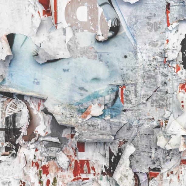 de affichemuur van grunge - tears corona stockfoto's en -beelden