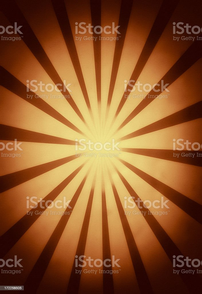 Grunge ray burst royalty-free stock photo
