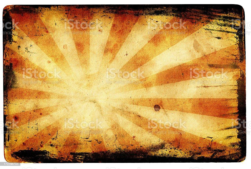 Grunge ray burst XXL royalty-free stock photo