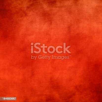 istock Grunge red background 184683682
