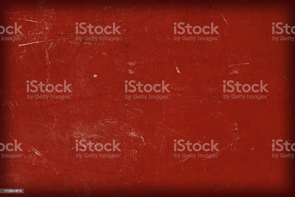 Grunge Red Background with Black Faded Border royalty-free stock photo
