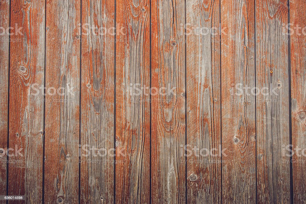 Grunge red planks with texture stock photo