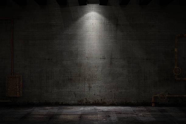 Grunge-Zimmer – Foto