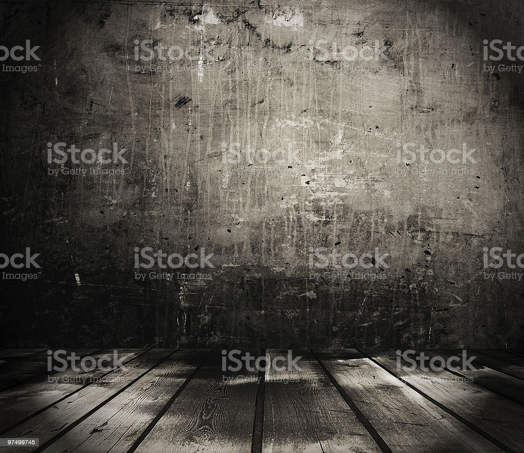 grunge room royalty-free stock photo