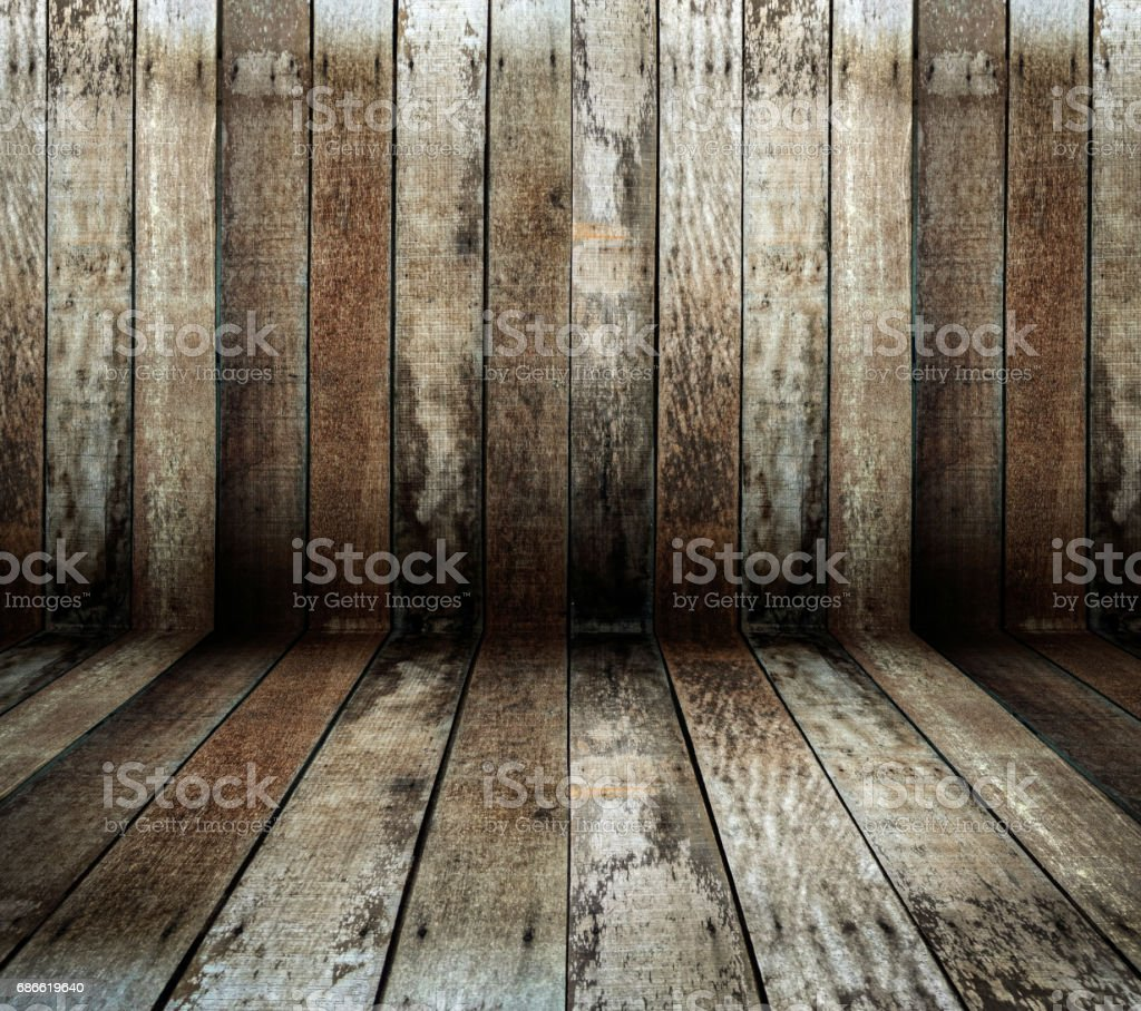 Grunge rustic wooden table royalty-free stock photo