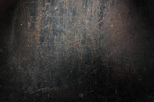 Grunge rusty metal background.