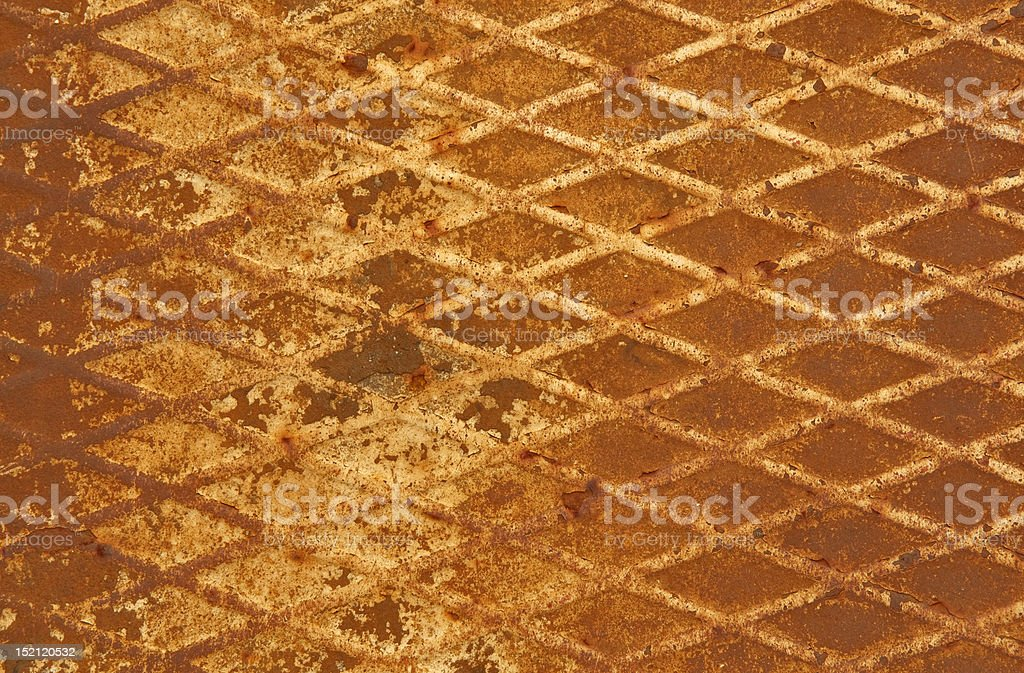 grunge rusty metal royalty-free stock photo