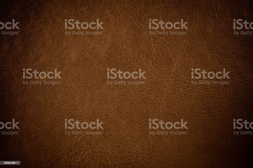 grunge scratched leather to use as background stock photo