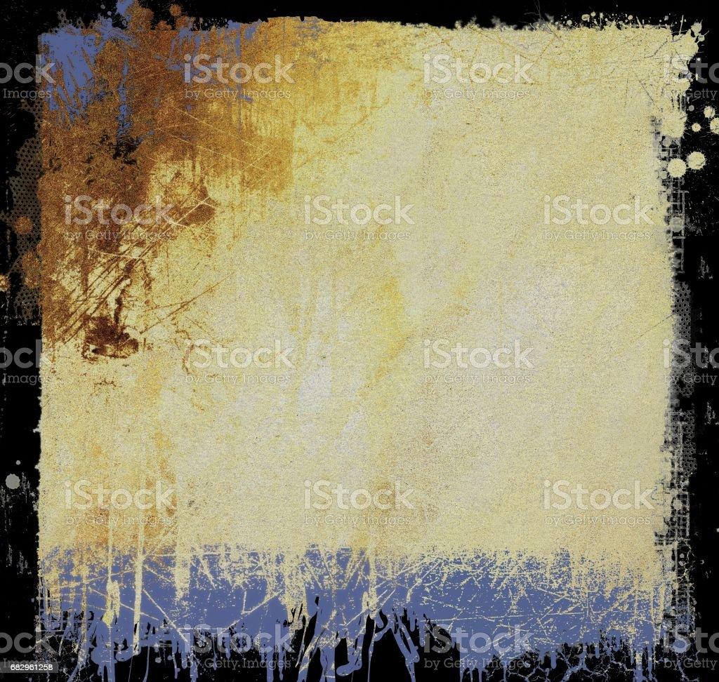 Grunge sepia cracked texture background. royalty-free stock photo