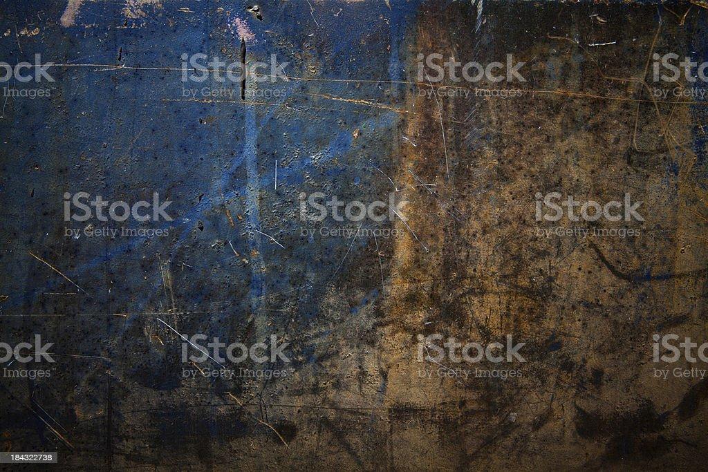 Grunge Sheet Metal royalty-free stock photo