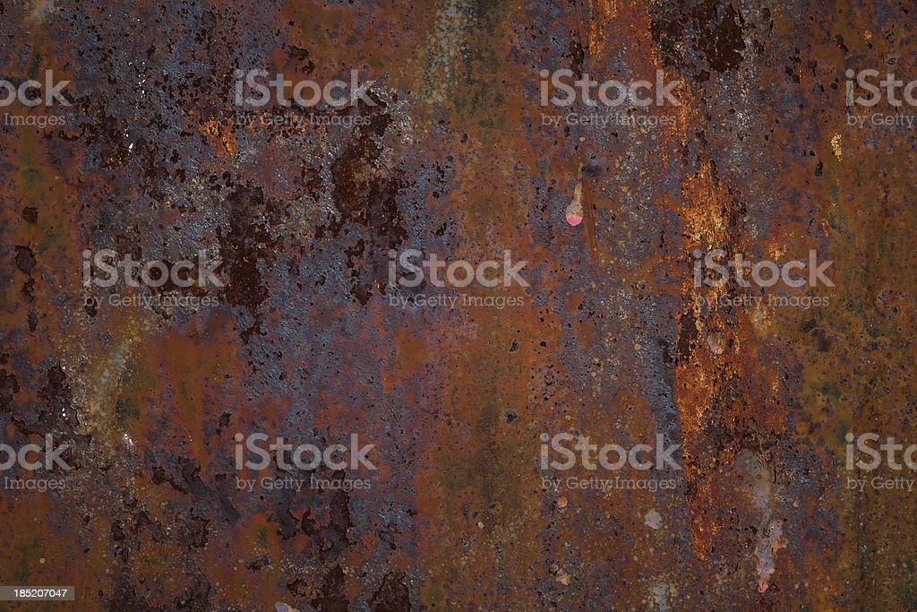 Grunge Sheet Metal royalty-free stock photo