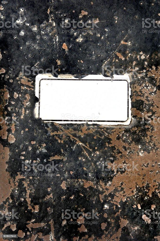 grunge sign stock photo