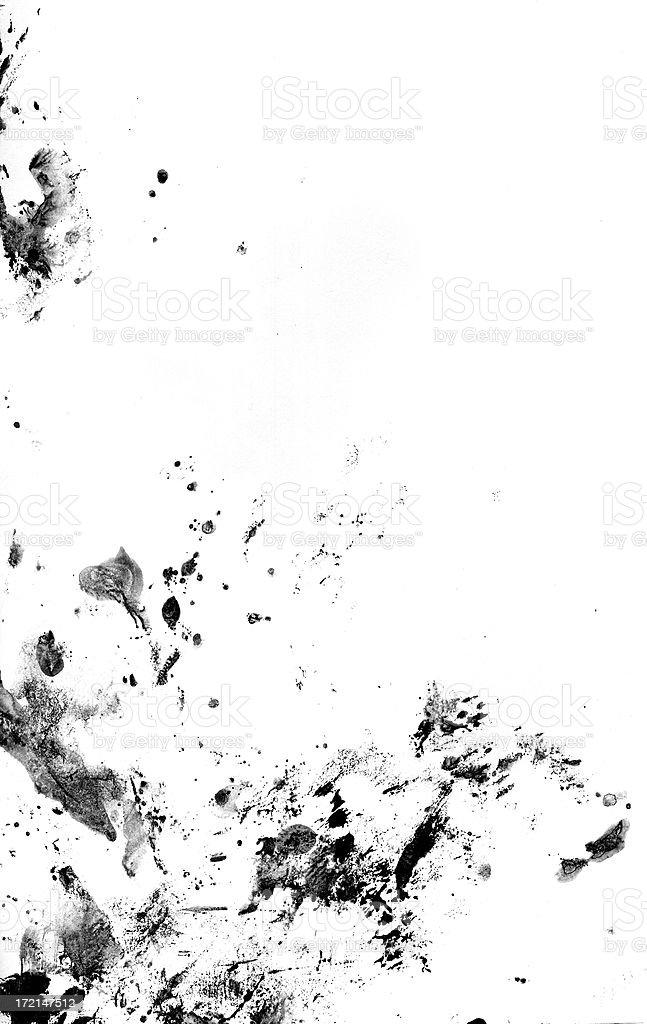 grunge splatter royalty-free stock photo