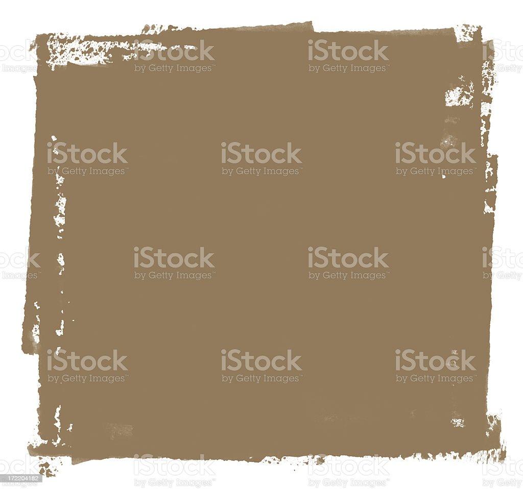 Grunge Square stock photo