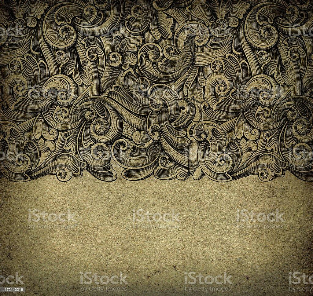 Grunge Square Wallpaper stock photo