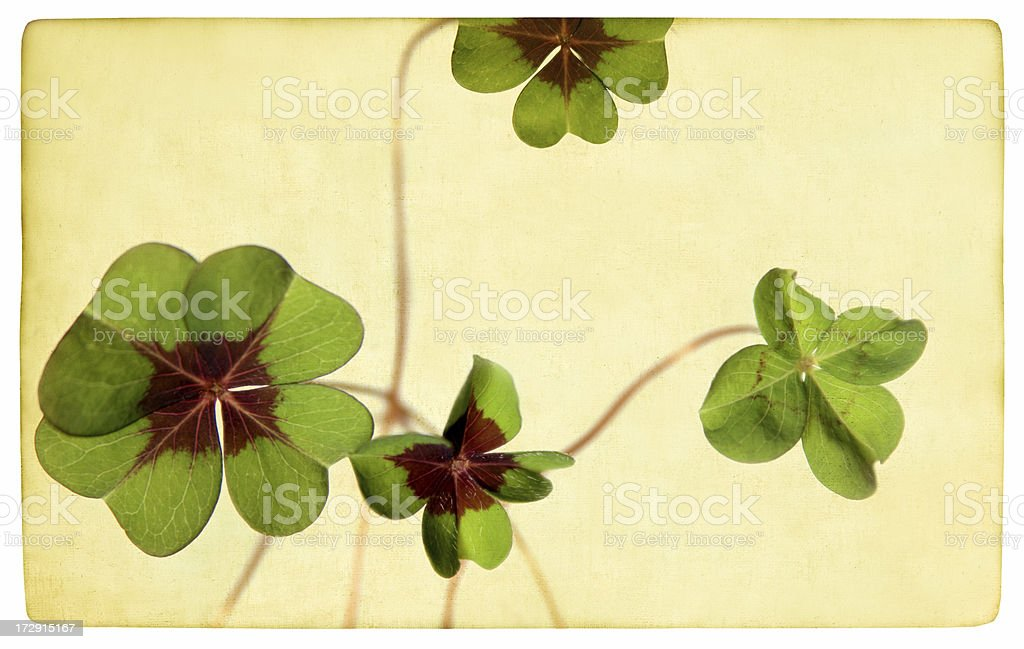 Grunge st. patrick day background royalty-free stock photo