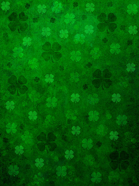 grunge st. patrick day background - st patricks day background stock photos and pictures